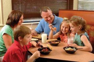 FAZOLI'S KIDS-EAT-FREE WEEKENDS
